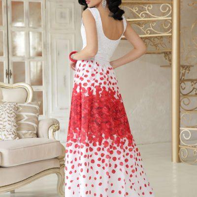 Нарядное воздушное платье