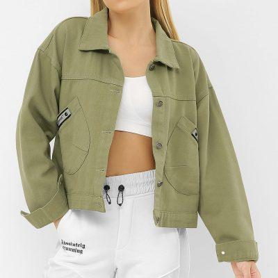 Курточка джинсовая женская